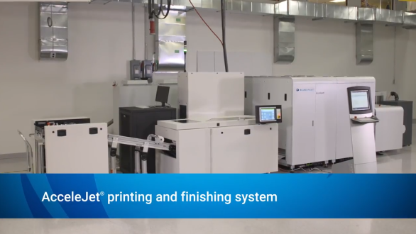 Discover how easy it is to accelerate your path to color inkjet printing with the AcceleJet.